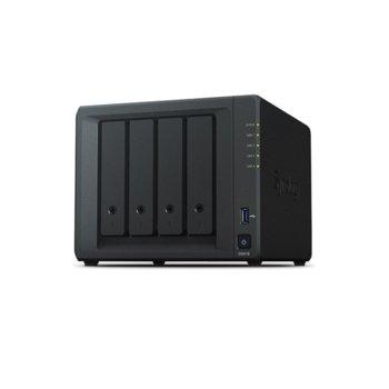 "Мрежови диск (NAS) Synology DiskStation DS418, четириядрен Realtek RTD1296 1.4GHz, без твърд диск(4x 2.5/3.5"" HDD/SSD), 2GB DDR4, 2x LAN10/100/1000, 2x USB 3.0 image"