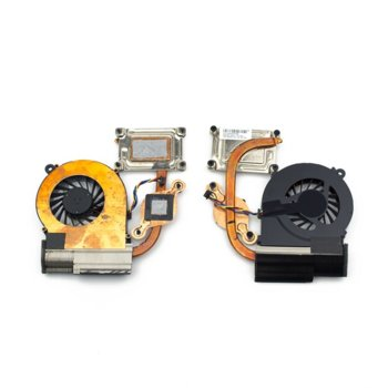 Вентилатор за лаптоп HP съвместим с CQ56, G6-1000, (Independent Graphics) image