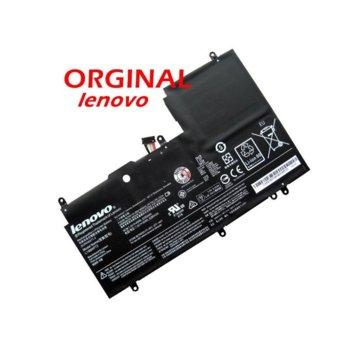Батерия (оригинална) за лаптоп Lenovo, съвместима с Yoga 3 Yoga 700 L14M4P72, 7.4V, 6200 mAh image