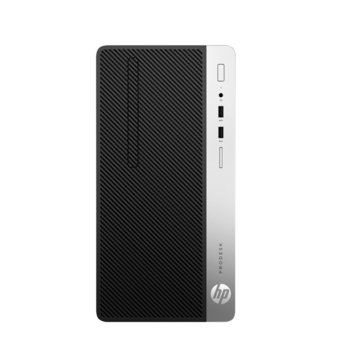 Настолен компютър HP ProDesk 400 G6 MT (8PG78EA), четириядрен Coffee Lake Intel Core i3-9100 3.6/4.2 GHz, 8GB DDR4, 256GB SSD, 4x USB 3.1, клавиатура и мишка, Free DOS image