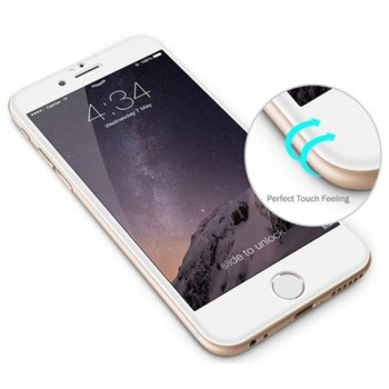 Темперно стъкло 3D Tellur за iPhone 6, бяло product