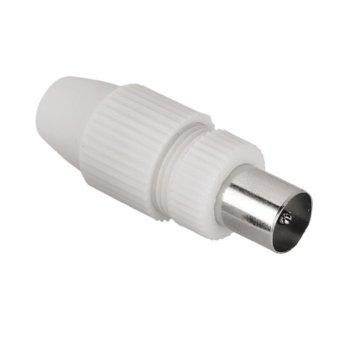 Конектор Hama 44147, коаксиален, 5-7 мм, мъжки image