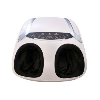 Mасажор за крака REXTON FR-F32C с функция за подгряване, почукване и интензивност на масажа, 15 мин масаж, бял image