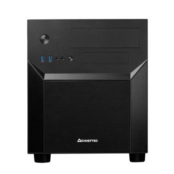 Кутия Chieftec GamerCube Chassis CI-02B-OP, mATX/Mini ITX, 2x USB 3.1 Gen 1, черна, без захранване image