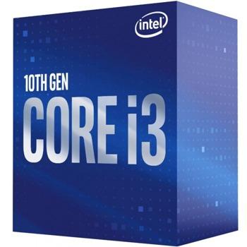 Процесор Intel Core i3-10105, четириядрен (3.7/4.4 GHz, 6MB, 1100MHz графична честота, LGA1200) Box, без охлаждане image
