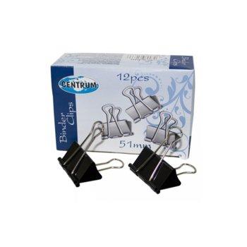 Щипки, захващат до 250 л., размер 51 mm, 12бр. в опаковка  image