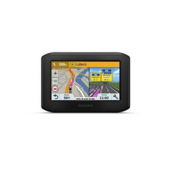 """Навигация за мотор Garmin zūmo 396LMT-S, 4.3"""" (10.92 cm) TFT WQVGA цветен дисплей, Bluetooth, Wi-Fi, microSD слот, IPX7 водоустойчивост, вградена карта на Европа image"""