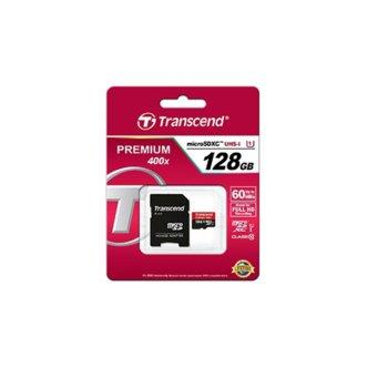 128GB microSDHC Transcend TS128GUSDU1 C10 product