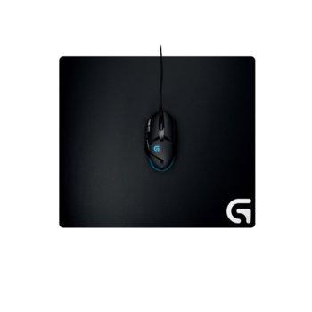 Подложка за мишка Logitech G640 Gaming Mouse Pad, гейминг, черна, 460 x 400 x 3mm image