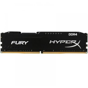 Памет 8GB DDR4, 2400MHz, Kingston HyperX FURY, HX424C15FB3/8, 1.2 V image