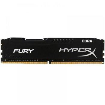 Памет 8GB DDR4, 2400MHz, Kingston HyperX FURY, HX424C15FB3/8, 1.2 V image