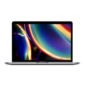 """Лаптоп Apple MacBook Pro (MXK32LL/A)(сив), четириядрен Intel Core i5 3,9 GHz, 13.3"""" (33.78 cm) IPS LED-backlit Truetone Display, (Thunderbolt 3), 8GB, 256GB SSD, macOS  image"""