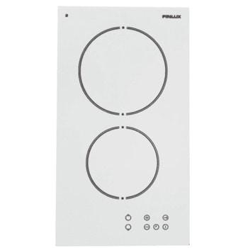 Керамичен плот за вграждане Finlux FXVT 400 ECO WH, 2 нагревателни зони, 9 степени, сензорно управление, защита от деца, бял image