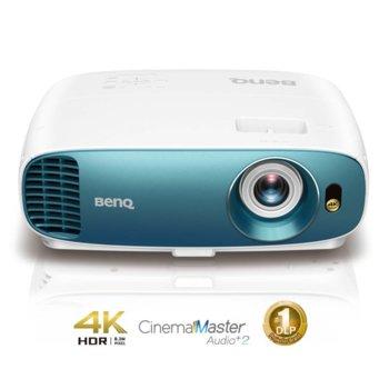 Проектор BenQ TK800M, DLP, 4К (3840x2160), 10 000:1, 3 000 lm, 2x HDMI, VGA, USB image