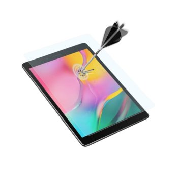 Протектор от закалено стъкло /Tempered Glass/ Baseus за Samsung Galaxy Tab А 8 (2019) image