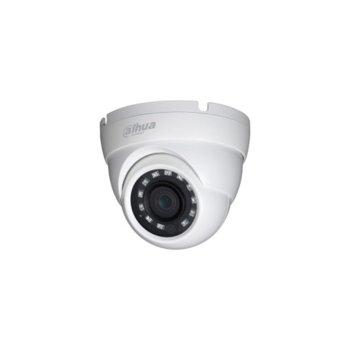 HDCVI камера Dahua HAC-HDW1200M-0360B-S3, куполна, 2 Mpix(1920x1080@25fps), 3.6mm обектив, IR осветеност(до 30 метра), външна, IP67 защита image