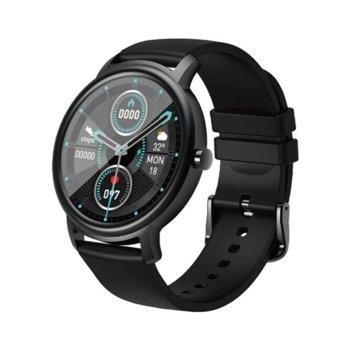 "Смарт часовник Xiaomi MiBro Air (XPAW001), 1.28"", IP68, Bluetooth, до 10 дни време на работа, 12 спортни режима, Био сърдечен ритъм, черен image"