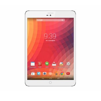 "Таблет ZTE E9Q+ (бял), 3G, 9.7"" (24.64 cm) HD дисплей, четириядрен Cortex A7 1.3GHz, 1GB RAM, 16GB Flash памет (+ microSD слот), Android, 800g image"
