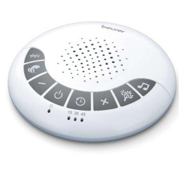 Устройство за заспиване Beurer SL 15, 4 успокояващи мелодии, таймер функция за автоматично изключване, работи с 3 бр. ААА батерии image