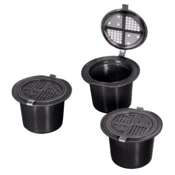 Капсули Xavax Coffeeduck, за Nespresso машини, 3бр., за многократна употреба image