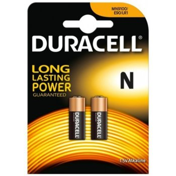 Батерия алкална Duracell, N, 1.5V, LR1, 2 бр. image