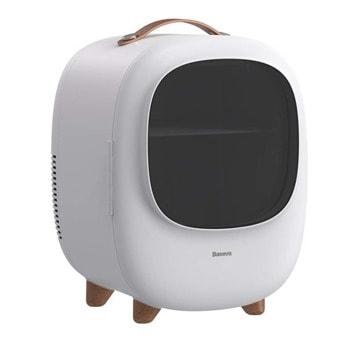 Хладилник Baseus Zero Space Refrigerator, преносим, 8л. обем, 60W, може да се използва както в домакинството (220V), така и във автомобил (12V), бял image