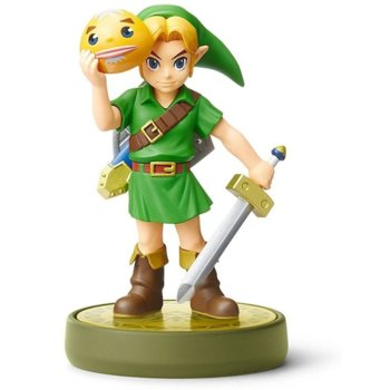 Фигура Nintendo Amiibo - Link Majoras Mask, за Nintendo 3DS/2DS, Wii U, Switch image
