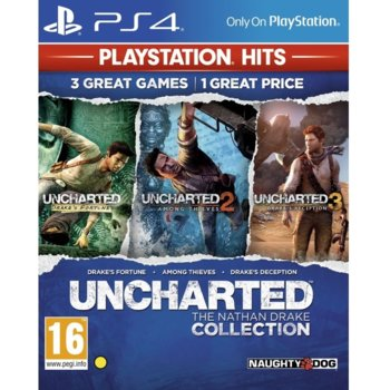 Игра за конзола Uncharted: The Nathan Drake Collection, за PS4 image