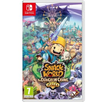 Игра за конзола Snack World: The Dungeon Crawl Gold, за Nintendo Switch image
