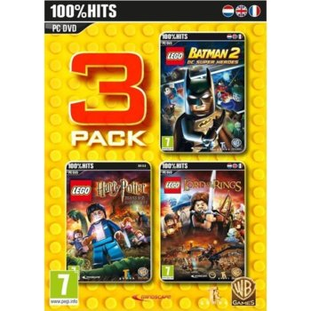 LEGO 3 Pack - 100% Hits product