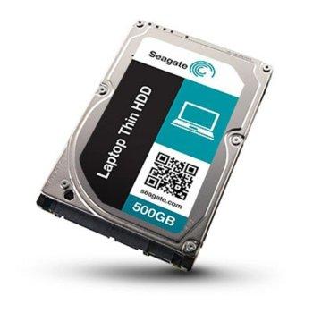 """Твърд диск 500GB Seagate, SATA 6Gb/s, 7200 rpm, 32MB кеш, 2.5""""(6.35 cm) image"""