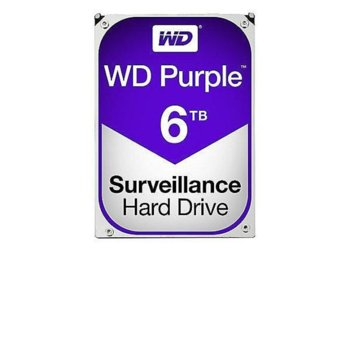 WD Purple Surveillance, 6TB, 64MB, SATA 3 product