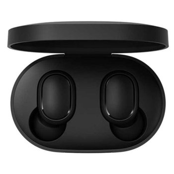 Слушалки Xiaomi Mi True Wireless Earbuds Basic 2, безжични, Bluetooth, микрофон, до 4 часа време на работа, черни image