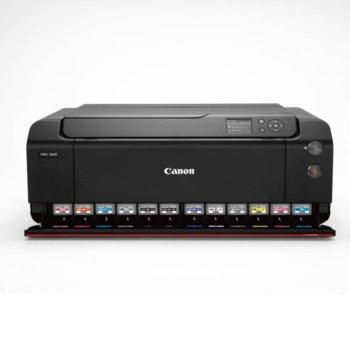 Мастиленоструен принтер Canon imagePROGRAF PRO-1000, цветен, 2400 x 1200 dpi, 1x A2 3мин/35с стр/мин, Wi-Fi, LAN100, USB, A2 image