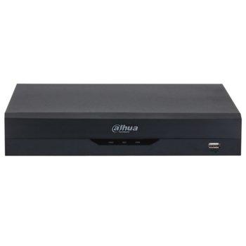 Хибриден видеорекордер Dahua XVR5108HS-4KL-I2, 8 канален, AI Coding/H.265+/H.265/H.264+/H.264, 1x SATA(до 1x 10TB), 1x USB 3.0, 1x USB 2.0, 1x LAN10/100/1000, 1x HDMI, 1x VGA, 1x RS485 image