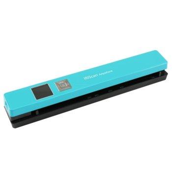 Скенер IRIS IRIScan Anywhere5, 1200 x 1200 dpi, A4, 1200mAH Li-po батерия, USB image