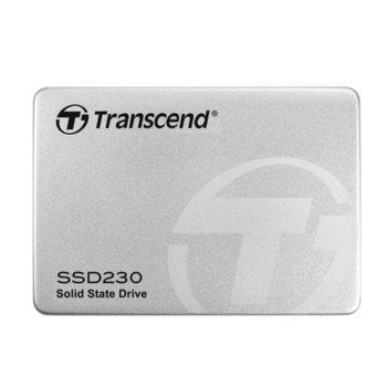 """Памет SSD 512GB Transcend SSD230S, SATA 6Gb/s, 2.5""""(6.35 cm), скорост на четене 560 MB/s, скорост на запис 520 MB/s image"""