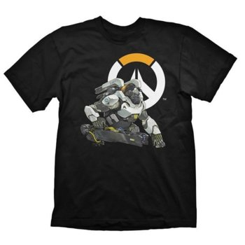 Тениска Gaya Entertainment Overwatch Winston, размер S, черна image