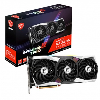 Видео карта AMD Radeon RX 6900 XT, 16GB, MSI GAMING Z TRIO (912-v395-022), GDDR6, 256-bit, DisplayPort, HDMI image