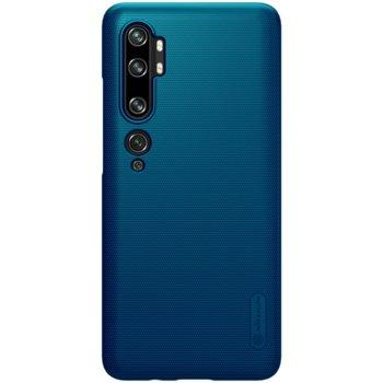 Калъф за Xiaomi Mi Note 10, поликарбонатен, Nillkin, син image