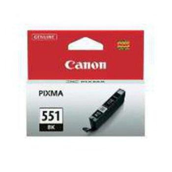 ГЛАВА CANON PIXMA IP 7250, PIXMA MG 5450, PIXMA MG 6350 - Black ink tank - CLI-551BK - P№ 6508B001 - заб.: 1105p image