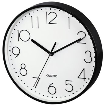Часовник Hama PG-20 186343, аналогово указание, стенен, ниско ниво на шум, черен image
