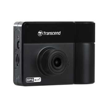 "Видеорегистратор Transcend TS-DP550A-64G за автомобил, Full HD, 2.4"" (6.1 cm) TFT дисплей, Micro SD/SDHC слот, Wi-Fi, micro USB към автомобилна запалка image"