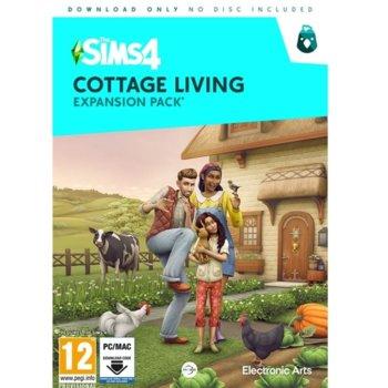Допълнение към игра The Sims 4 Cottage Living, за PC image