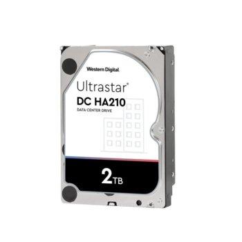 """Твърд диск 2TB Western Digital Ultrastar DC HA210, SATA 6Gb/s, 7200rpm, 128MB кеш, 3.5"""" (8.89cm) image"""