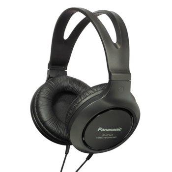 Слушалки Panasonic RP-HТ161E-K, никелиран жак, за телевизор, черни image