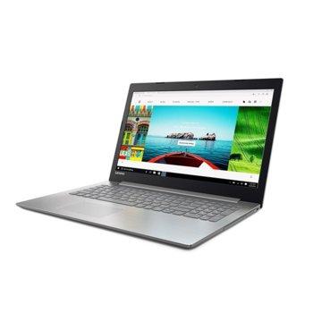 "Лаптоп Lenovo IdeaPad 330-15IKB (81DE00KCBM)(сив), двуядрен Kaby Lake Intel Core i3-7020U 2.30 GHz, 15.6"" (39.62 cm) Full HD Anti-Glare Display & Radeon 530 2GB, (HDMI), 8GB DDR4, 1TB HDD, 1x USB 3.0 Type-C, Free DOS, 2.2 kg image"