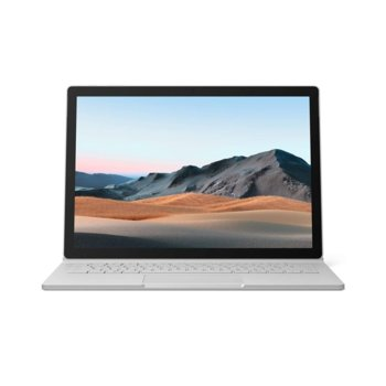 "Хибриден лаптоп Microsoft Surface Book 3 (V6F-00009)(сребрист), четириядрен Ice Lake Intel Core i5-1035G7 1.2/3.7 GHz, 13.5"" (34.29 cm) PixelSense Touchscreen Display, (USB-C), 8GB, 256GB SSD, Windows 10 Home image"