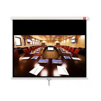 """Екран Avtek Cinema 200, ръчен за монтаж на стена или таван, Matt White, 2000 x 2000 мм, 86"""", 16:9  image"""