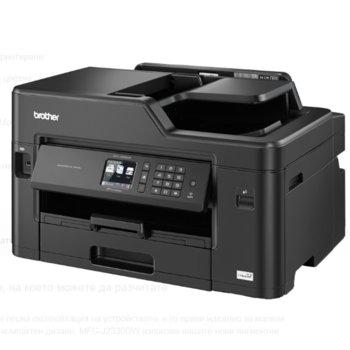 Мултифункционално мастиленоструйно устройство Brother MFC-J3530DW, цветен принтер/копир/скенер/факс, 4800 x 1200 dpi, 22 стр/мин, Wi-Fi, LAN100Base-TX, USB, ADF, двустранен печат, A3 image